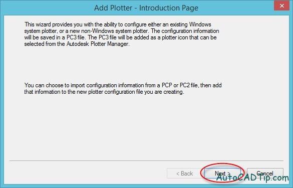 Add Plotter Introduction page, add printer