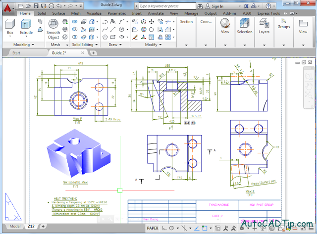 Introduce about AutoCAD 3D of advantage